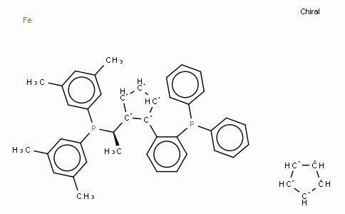 SC11469 | 494227-31-5 | (R)-(+)-1-[(R)-2-(2'-Diphenylphosphinophenyl)ferrocenyl]ethyldi(3,5-xylyl)phosphine