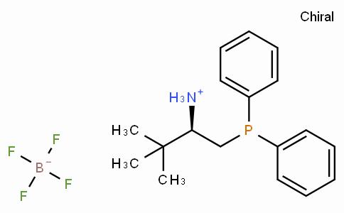 SC11645 | (R)-1-(Diphenylphosphino)-3,3-dimethylbutan-2-aminium tetrafluoroborate
