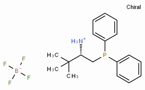 (S)-1-(Diphenylphosphino)-3,3-dimethylbutan-2-aminium tetrafluoroborate
