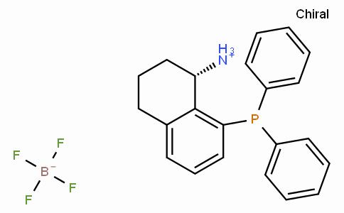 (S)-8-(Diphenylphosphino)-1,2,3,4-tetrahydronaphthalen-1-aminium tetrafluoroborate