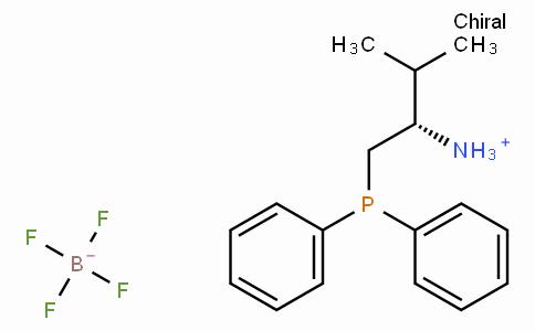 (S)-1 - (二苯基膦基)-3 - 甲基丁-2 - 铵四氟硼酸盐
