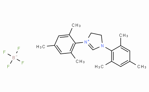 SC11686 | 245679-18-9 | 1,3-Bis(2,4,6-trimethylphenyl)-4,5-dihydroimidazolium tetrafluoroborate