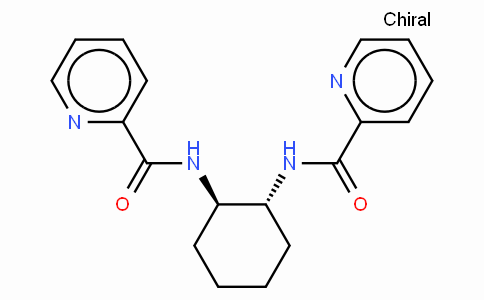 SC11740 | 218290-24-5 | (-)-N,N'-(1R,2R)-1,2-Diaminocyclohexanediylbis(2-pyridinecarboxamide)