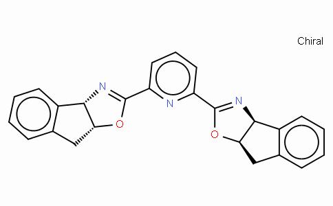 SC11769 | 185346-09-2 | (-)-2,6-Bis[2-{3aS-(2(3'aR*,8'aS*),3aα,8aα)-3a,8a-dihydro-8H-indeno[1,2-d]oxazole}]pyridine