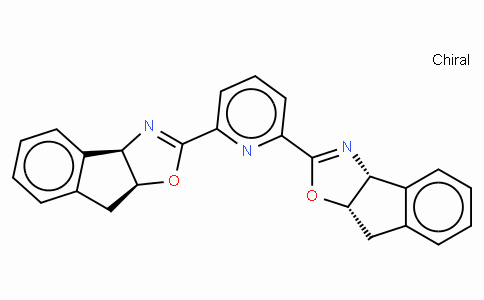 SC11771 | 357209-32-6 | 2,6-Bis[(3aR,8aS)-(+)-8H-indeno[1,2-d]oxazolin-2-yl)pyridine