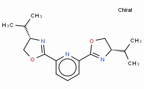 SC11781 | 131864-67-0 | (+)-2,6-Bis[(4R)-4-(i-propyl)-2-oxazolin-2-yl]pyridine