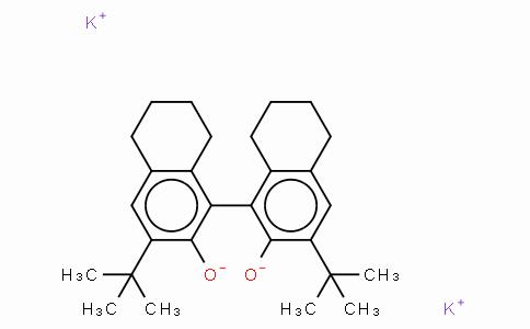 (R)-(-)-5,5',6,6',7,7',8,8'-八羟基-3,3'-二叔丁基-1,1'-联-2-萘醇二钾盐