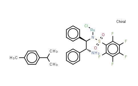 SC11902 | 1026995-71-0 | Chloro{[(1R,2R)-(-)-2-amino-1,2-diphenylethyl](pentafluorophenylsulfonyl)amido}(p-cymene)ruthenium(II), min. 90% RuCl[(R,R)-Fsdpen](p-cymene)