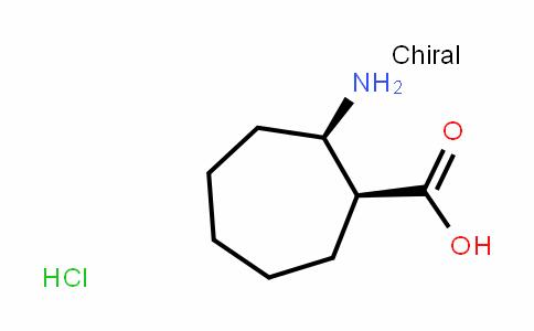 (1S,2R)-2-aminocycloheptanecarboxylic Acid Hydrochloride Salt