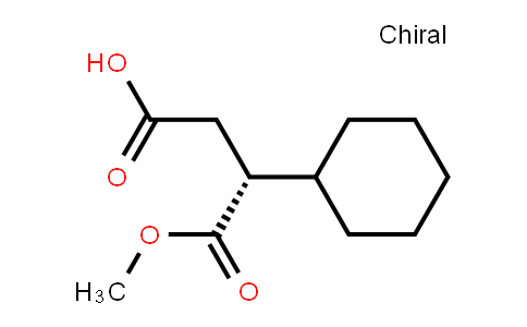 (R)-4-Methoxy-3-cylcohexyl-4-oxobutanoic Acid