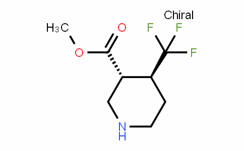 (3R,4S)-Methyl 4-(trifluoromethyl)piperidine-3-carboxylate