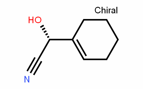 (R)-α-hydroxy-1-cyclohexene-1-acetonitrile