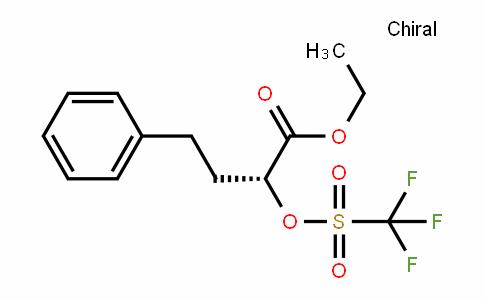 (R)-ethyl 4-phenyl-2-(trifluoromethylsulfonyloxy)butanoate