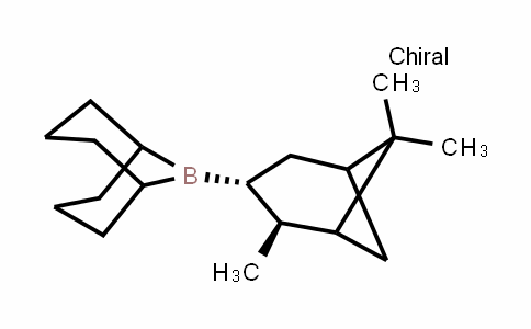 9-((2S,3R)-2,6,6-trimethylbicyclo[3.1.1]heptan-3-yl)-9-borabicyclo[3.3.1]nonane
