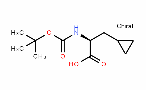 n-alpha-t-butoxycarbonyl-beta-cyclopropyl-l-alanine dicyclohexylammonium salt