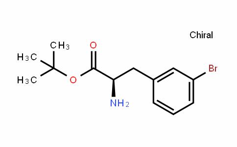 (R)-tert-butyl 2-amino-3-(3-bromophenyl)propanoat