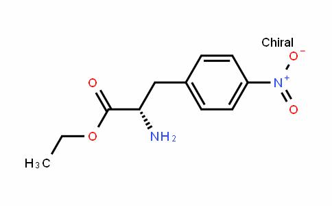 4-nitro-L-phenylalanine ethyl ester