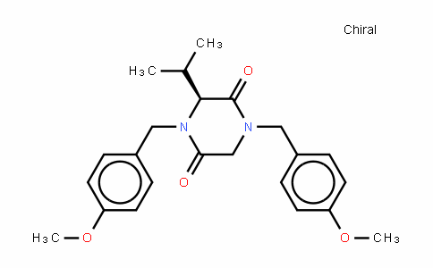 (S)-N,N&#39-bis(p-methoxybenzyl)-3-isopropyl-piperazine-2,5-dione