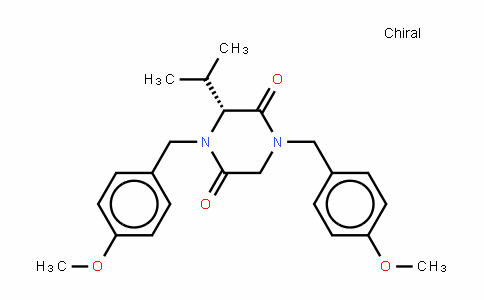 (R)-N,N'-bis(p-methoxybenzyl)-3-isopropyl-piperazine-2,5-dione