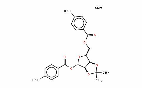 1,5-Di-O-(4-methylbenzoyl)-2,3-O-isopropylidene-beta-D-ribofuranose