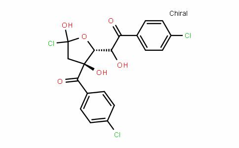 1-Chloro-3,5-di-(p-chlorobenzoyl)-2-deoxy-D-ribofuranose