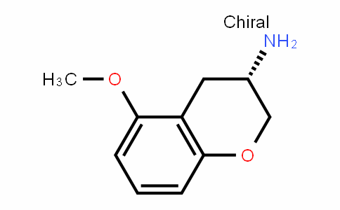(3S)-3,4-dihydro-5-methoxy-2H-1-Benzopyran-3-amine
