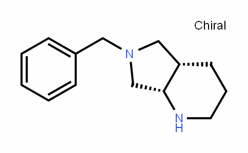 (4aS,7aS)-octahydro-6-(phenylmethyl)-1H-Pyrrolo[3,4-b]pyridine