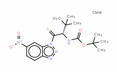 Boc-Thiono-t-Leu-1-(6-nitro)benzotriazolide