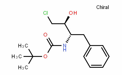 (1S, 2S)-(1-Benzyl-3-chloro-2-hydroxy-propyl)-carbamic acid tert-butyl ester