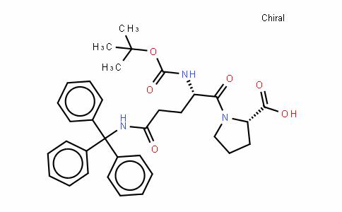 Boc-Gln(Trt)-Pro-OH
