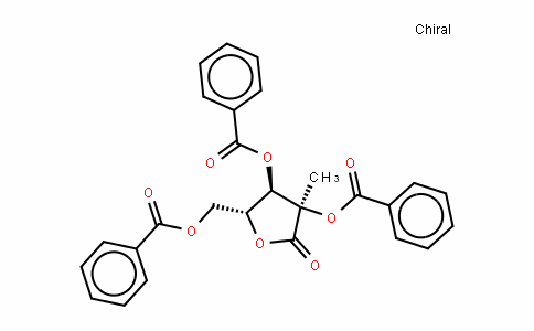 2,3,5-Tri-O-benzoyl-2-C-methyl-D-ribonic acid-1,4-lactone