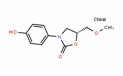 (R)-3-(4-Hydroxyphenyl)-5-(methoxymethyl)-2-oxazolidinone