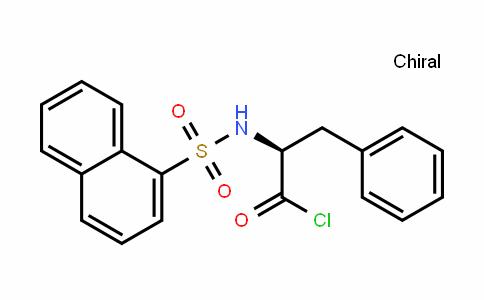 N-(1-Naphthalenesulfonyl)-L-phenylalanyl Chloride