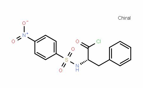 N-(4-Nitrophenylsulfonyl)-L-phenylalanyl Chloride