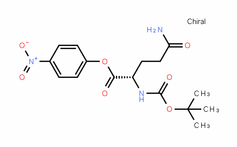 Boc-L-glutamine 4-nitrophenyl ester