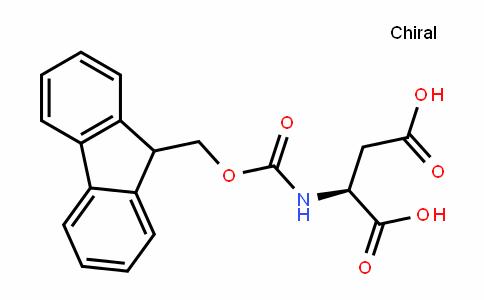 (S)-2-(((9H-fluoren-9-yl)methoxy)carbonylamino)succinic acid