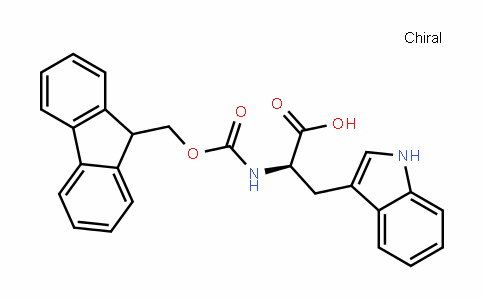 N-(9-fluorenylmethoxycarbonyl)-D-tryptophan
