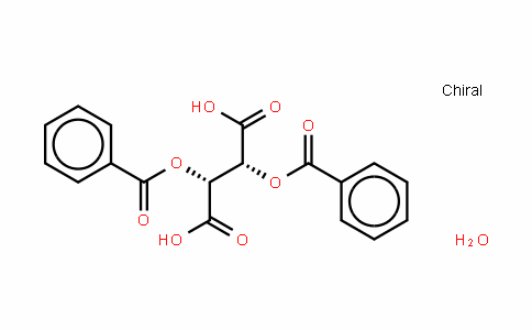 (-)-Dibenzoyl-L-tartaric acid monohydrate