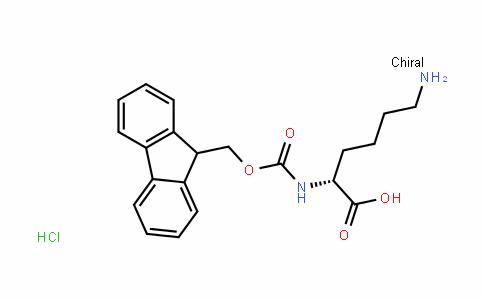 Nalpha-[(9H-Fluoren-9-ylmethoxy)carbonyl]-D-lysine Hydrochloride
