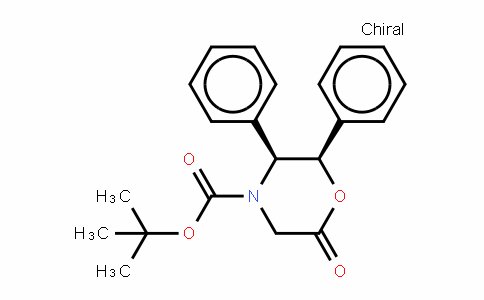 Tert-butyl-(2R,3S)-(-)-6-oxo-2,3-diphenyl-4-morpholinecarboxylate