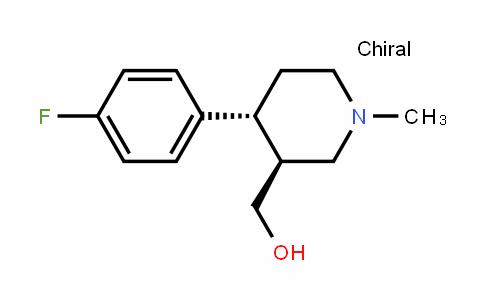 (3S,4R)-4-(4-Fluorophenyl)-3-hydroxymethyl-1-methylpiperidine