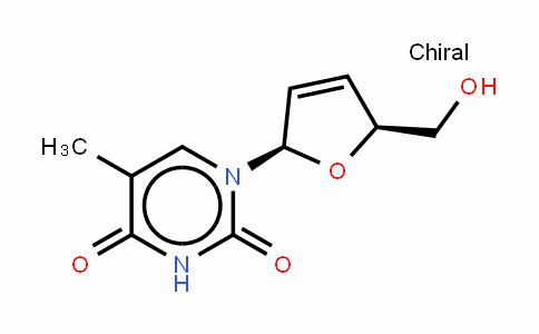 2',3'-Didehydro-3'-deoxythymidine