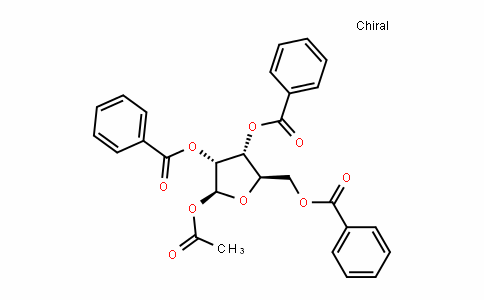 (2S,3R,4R,5R)-2-acetoxy-5-(benzoyloxymethyl)tetrahydrofuran-3,4-diyl dibenzoate