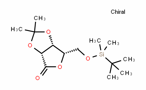 5-O-[(tert-Butyl)dimethylsilyl]-2,3-O-(1-methylethylidene)-L-lyxonic acid gamma-lactone