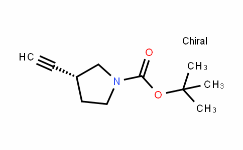 (R)-tert-butyl 3-ethynylpyrrolidine-1-carboxylate