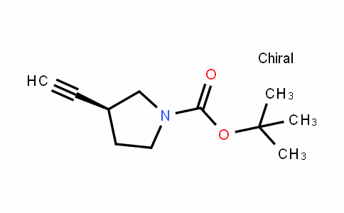 (S)-tert-butyl 3-ethynylpyrrolidine-1-carboxylate