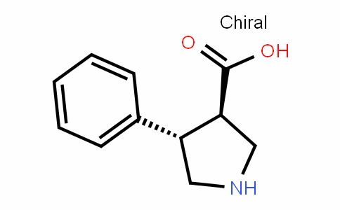 (3R,4S)-4-phenylpyrrolidine-3-carboxylic acid