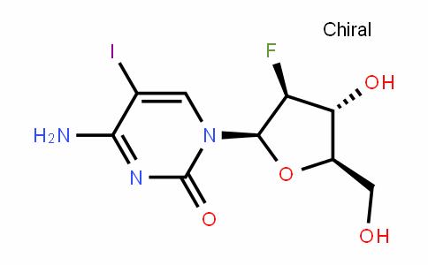 4-Amino-1-[(2R,3S,4R,5R)-3-fluoro-4-hydroxy-5-(hydroxymethyl)oxolan-2-yl]-5-iodopyrimidin-2-one
