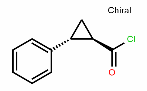 trans-2-Phenyl-1-cyclopropanecarbonyl chloride