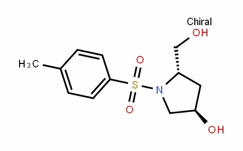 (3R,5S)-5-(hydroxymethyl)-1-tosylpyrrolidin-3-ol